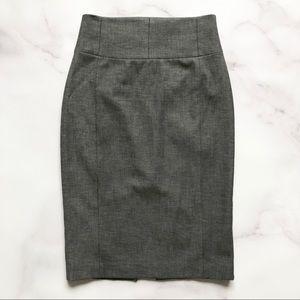 Express | Charcoal Gray Pencil Skirt